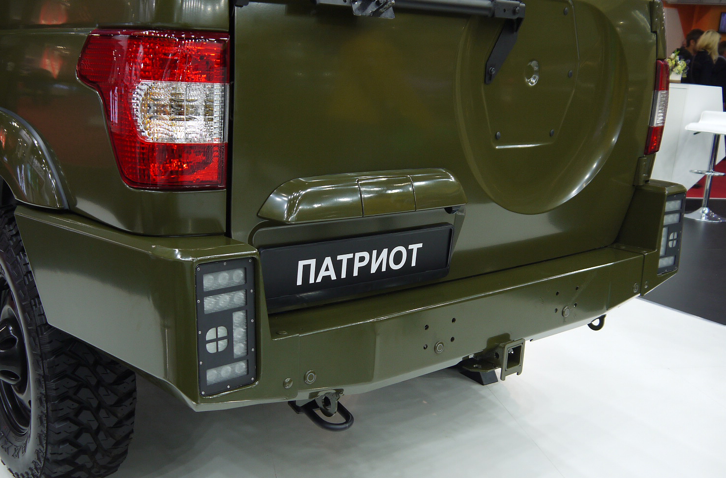 UAZ FORUM ARMY 2017 EXPO steel bumper 9.jpg